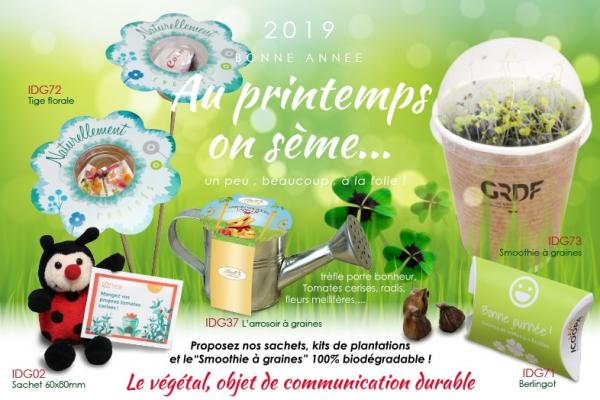 Au printemps, on sème !